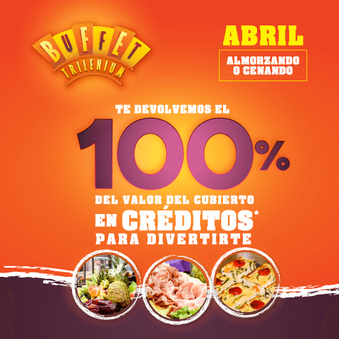 Buffet Trilenium – Abril