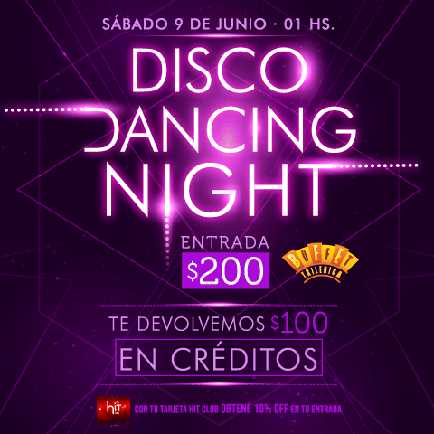 Disco Dancing Night